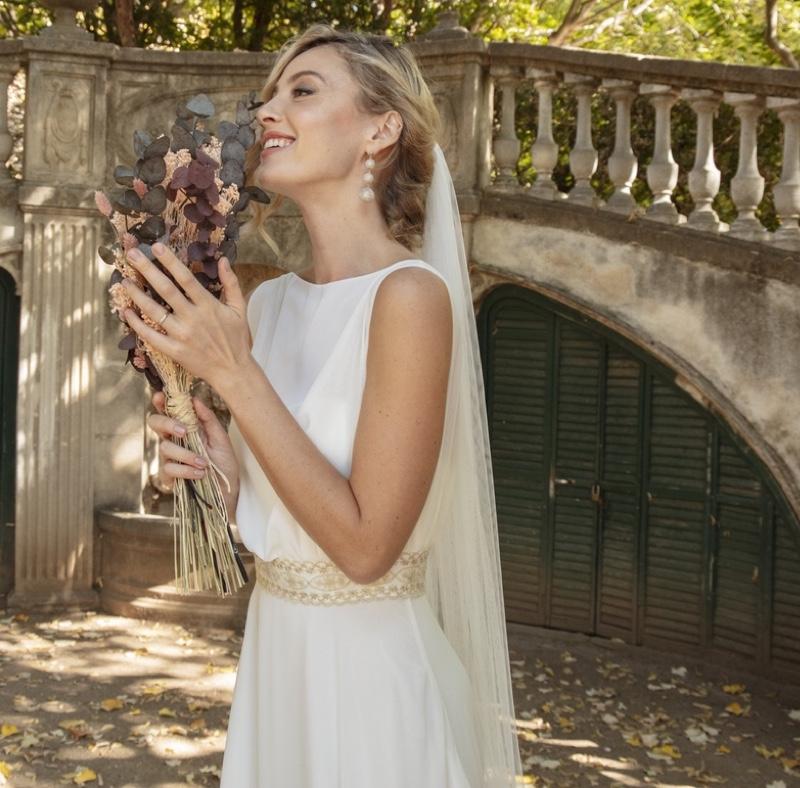Vestido de novia Alma diseñado por Irene Todelado